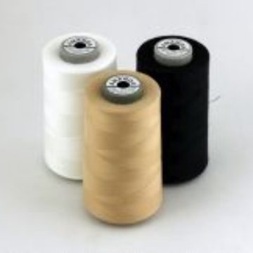 Sewing threads with a wide range of applications. A combination of polyester core and cotton braid.